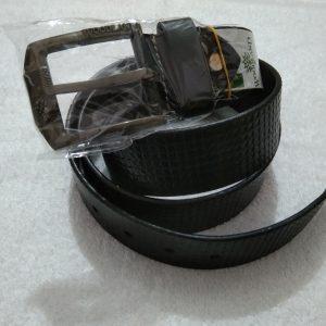 Woodland black belt for men's